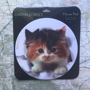New Cynthia Rowley Kitten Mouse Pad
